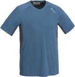 Pinewood Activ męska koszulka sportowa, niebieska/szary, M
