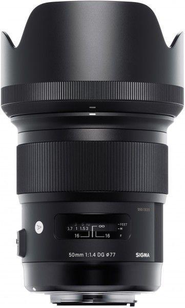 Sigma A 50mm F1.4 DG HSM - obiektyw stałoogniskowy do Nikon F Sigma A 50mm F1.4 DG HSM / Nikon