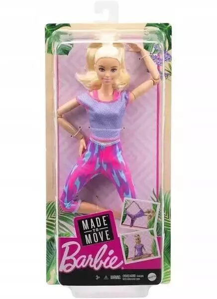 Barbie. Made to move Lalka 2 - Mattel