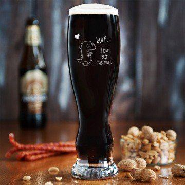 Burp - Grawerowana Szklanka do piwa