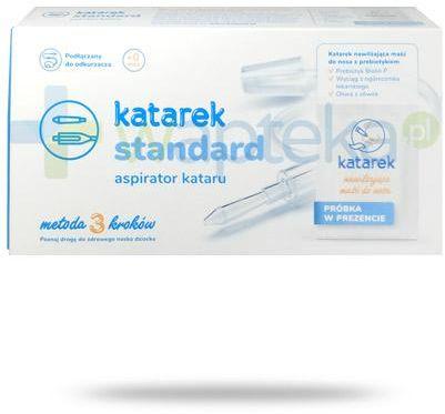 Katarek Standard aspirator kataru dla dzieci od urodzenia 1 sztuka