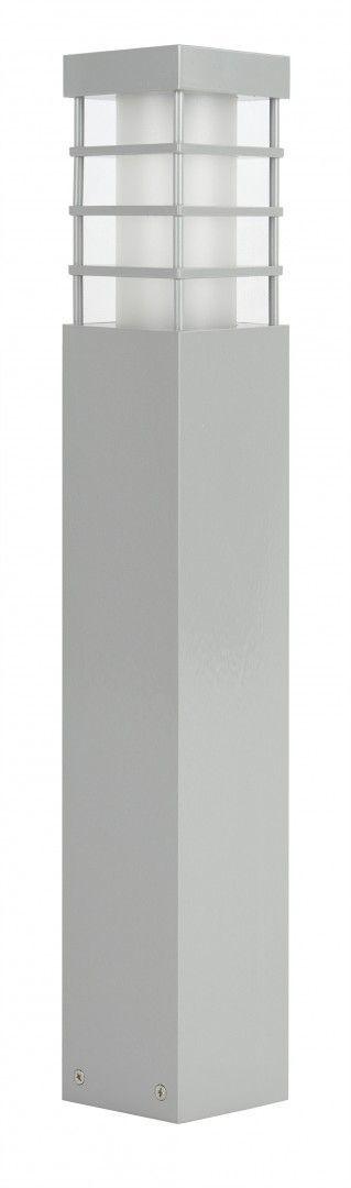 SU-MA RADO II 2 AL lampa stojąca srebrna E27 IP54 50cm