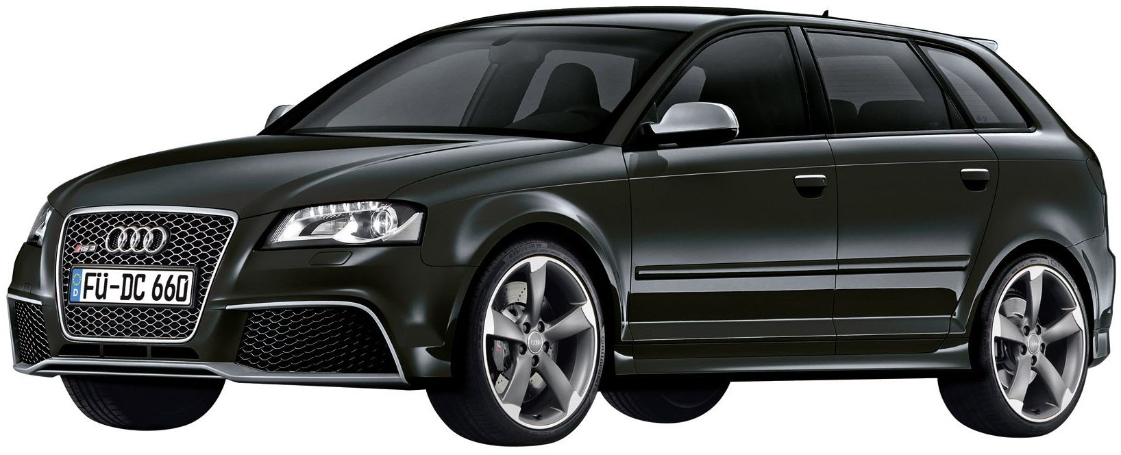 Dickie-Schuco 450880100 - Schuco - Audi RS 3, czarny fantomowy 1:43 Sportback
