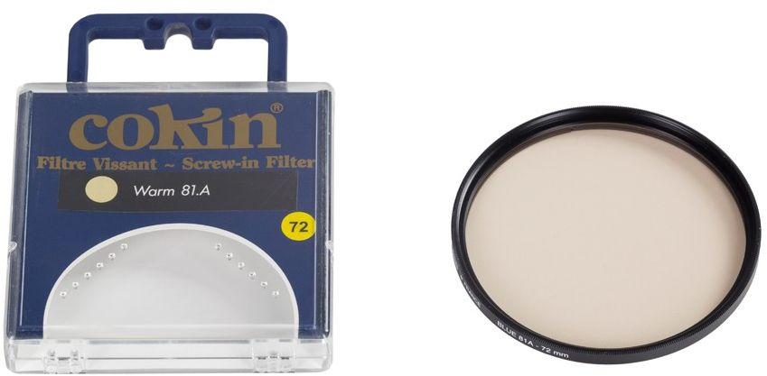 Cokin C026 filtr ocieplający 81A 67mm