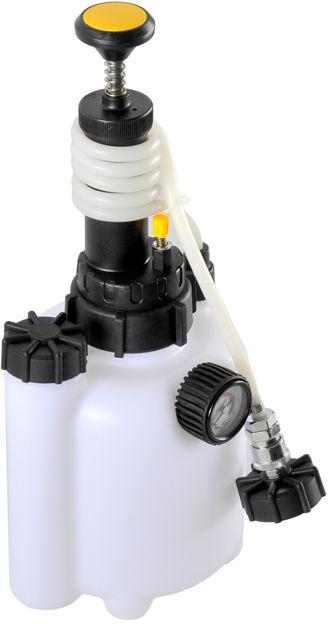 Przyrząd wymiany odpowietrzania płynu hamulcowego