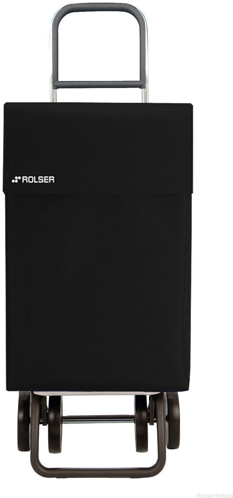 Wózek zakupowy do pchania i ciągnięcia Rolser DOS+2 Jane /czarny