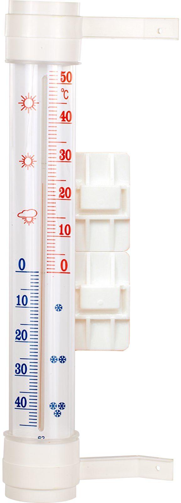 Termometr zewnętrzny biały