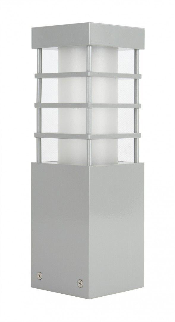 SU-MA RADO II 3 AL lampa stojąca srebrna E27 IP54 25cm
