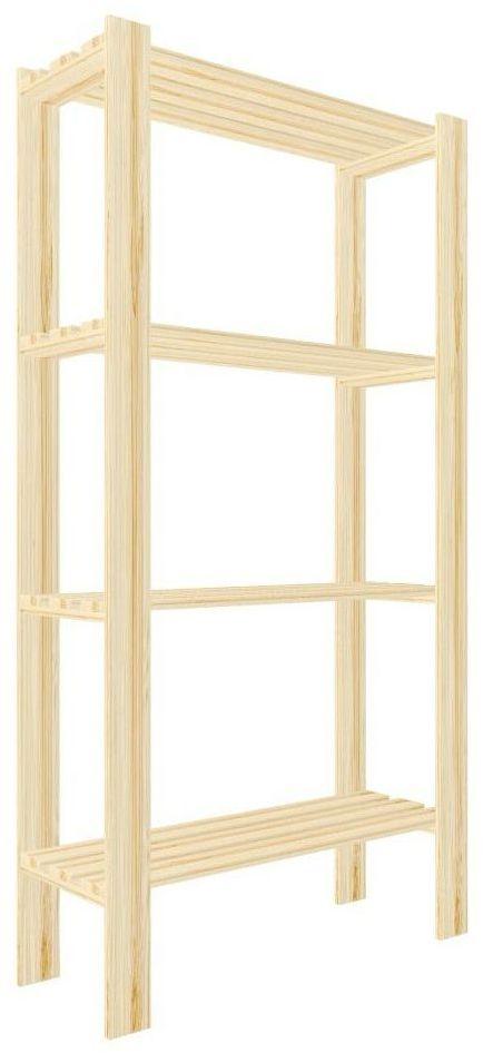 Regał drewniany PIWNICZNY 149 x 75 x 29 cm