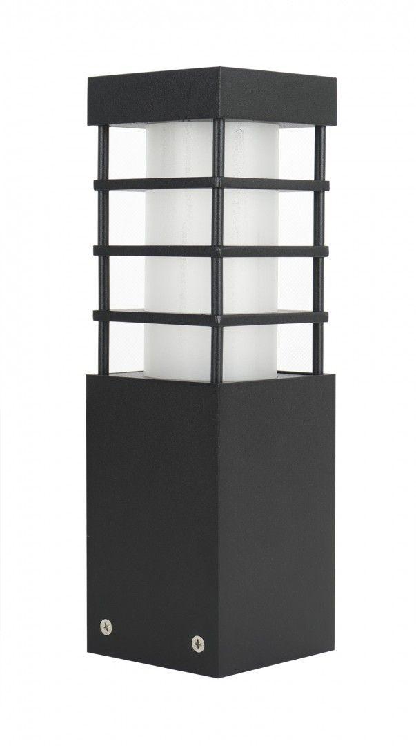 SU-MA RADO II 3 BL lampa stojąca czarna E27 IP54 25cm