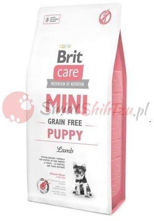 Brit Care Mini Grain Free Puppy Jagnięcina 2kg