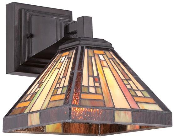 Kinkiet witrażowy TIFFANY STEPHEN QZ/STEPHEN1 - Elstead Lighting  Skorzystaj z kuponu -10% -KOD: OKAZJA