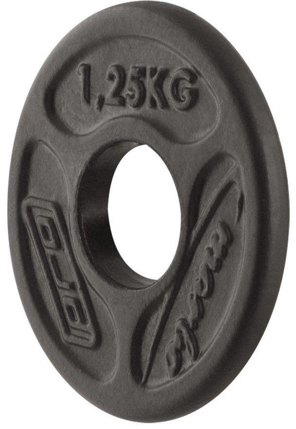 Obciążenie olimpijskie żeliwne 1,25kg MW-O1,25-OLI - Marbo Sport