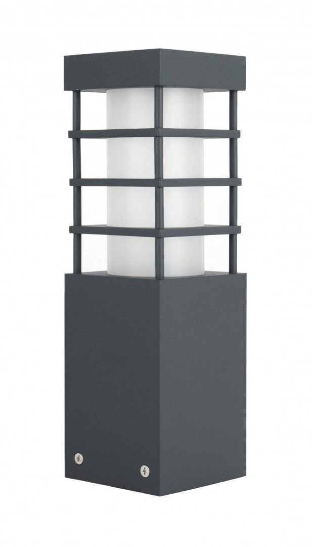 SU-MA RADO II 3 DG lampa stojąca ciemny popiel E27 IP54 25cm