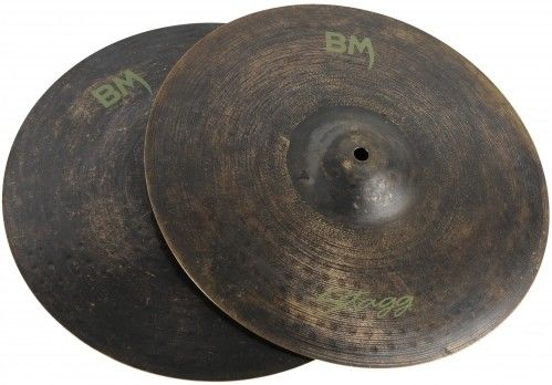 Stagg BM HR Black Metal Hi-Hat 14 talerz perkusyjny