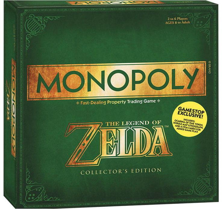 Gra Monopoly - The Legend of Zelda - Wersja ENG