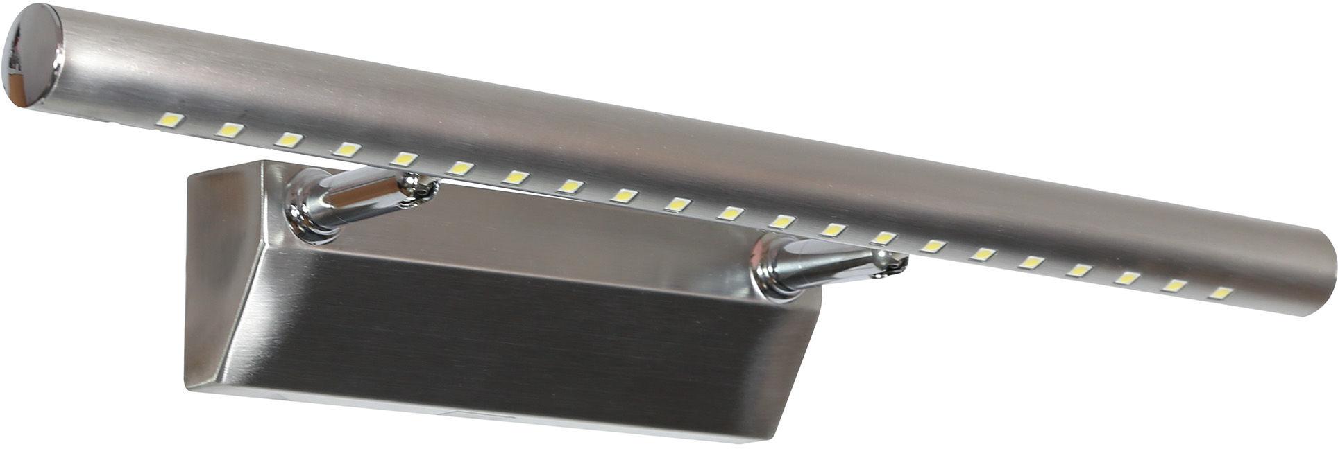 Candellux FORTE LED 2 20-26996 kinkiet lampa ścienna satyna nikiel rurka 5W LED 40,5cm