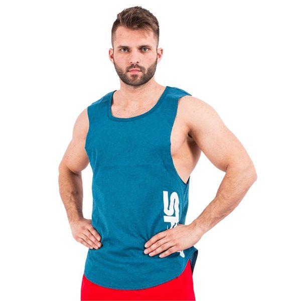 Muscle Tank Top Blue 1szt