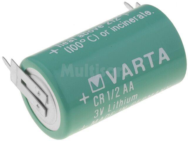 Bateria litowa VARTA 3V 1/2AA,1/2R6 2pin fi14,6x25mm 950mAh