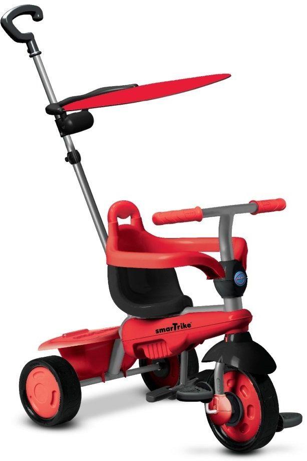 Smart Trike 619-1500, trzykołowrotek dziecięcy Carnival, czerwony