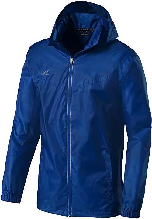 Pro Touch Unisex dziecięca Sturmo II kurtka przeciwdeszczowa dziecięca niebieski niebieski 128