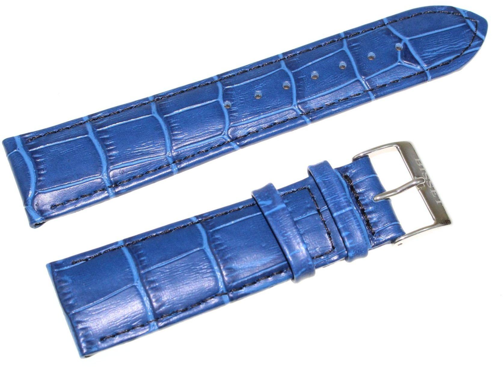 Skórzany pasek do zegarka Bisset 22 mm BS-121.22.20