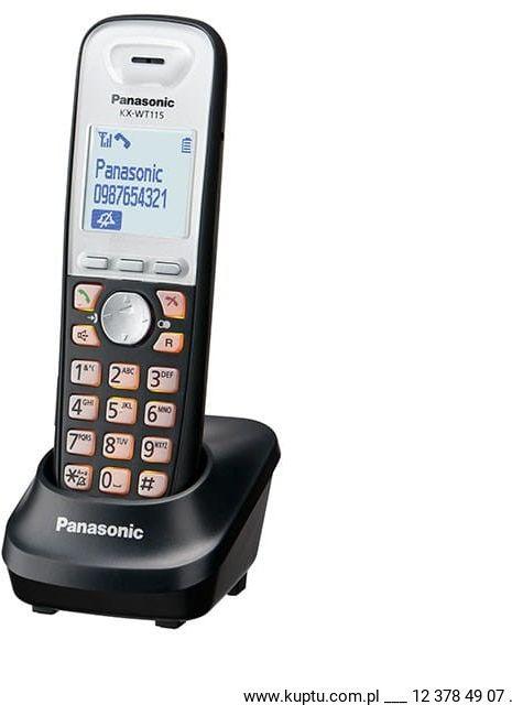 KX-WT115CE, słuchawka systemowa DECT