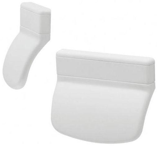 Uchwyt balkonowy ZEWNĘTRZNY Plastikowy Biały