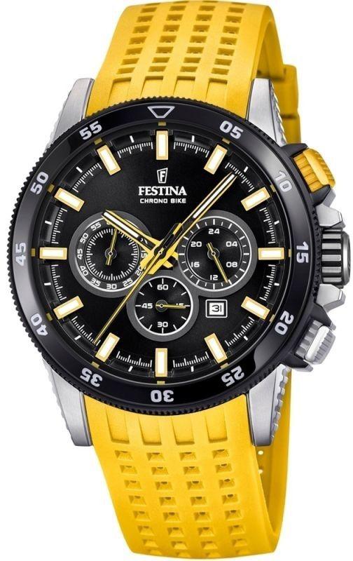 Zegarek Festina F20353-5 CHRONO BIKE 18 - CENA DO NEGOCJACJI - DOSTAWA DHL GRATIS, KUPUJ BEZ RYZYKA - 100 dni na zwrot, możliwość wygrawerowania dowolnego tekstu.