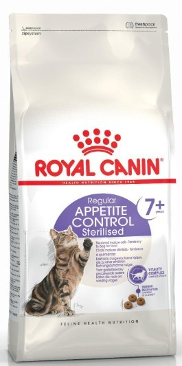 Royal Canin Sterilised +7 Appetite Control 400g Cat