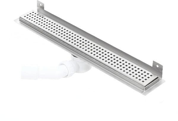 Kesmet Wall Silver Caro odpływ ścienny 500KWF_p 500mm (syfon plastikowy)