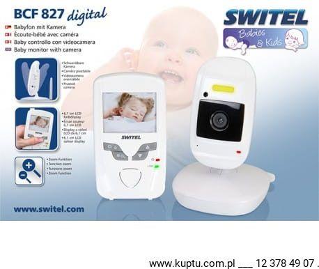 SWITEL BCF 827, niania elektroniczna z kamerą