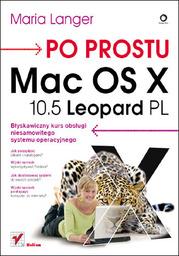 Po prostu Mac OS X 10.5 Leopard PL - dostawa GRATIS!.