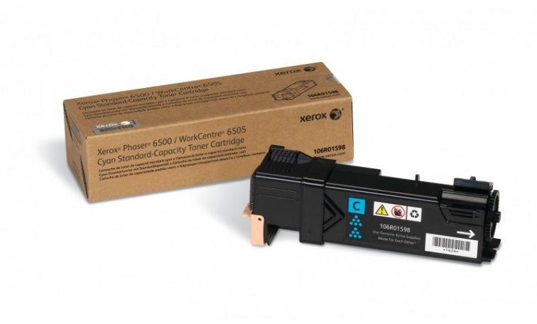 Toner błekitny do drukarki XEROX Phaser 6500 (106R01598)