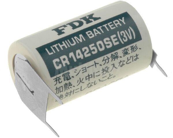 Bateria litowa FDK 3V 1/2AA,1/2R6,CR14250 900mAh