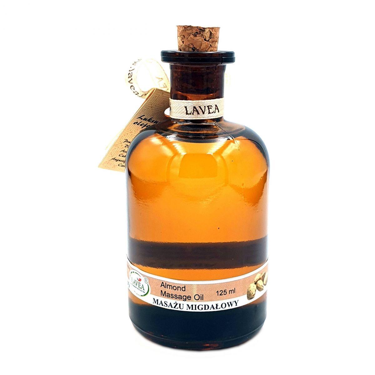 Luksusowy Olejek do Masażu - Migdałowy - 110 ml - Lavea
