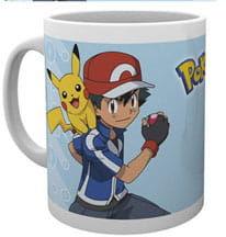 Kubek - Pokemon - Ash with Pikachu