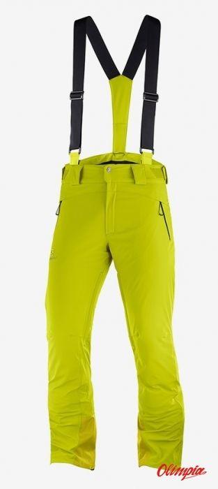 Spodnie narciarskie Salomon Iceglory Citronelle 2020