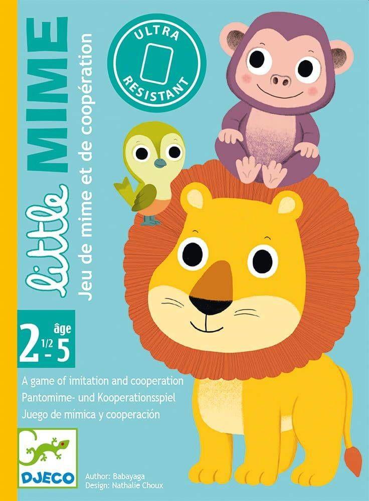 Gra karciana dla maluchów Little Mime DJ05063- Djeco, gry dla najmłodszych