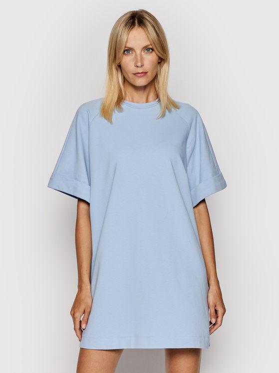 Sukienka codzienna ABZQBCR Niebieski Regular Fit