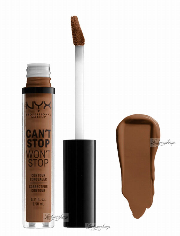 NYX Professional Makeup - CAN''T STOP WON''T STOP- CONCEALER - Korektor w płynie - DEEP COOL
