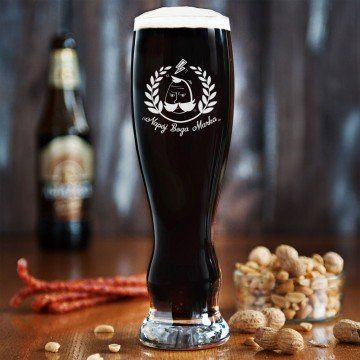 Napój Boga - Grawerowana Szklanka do piwa