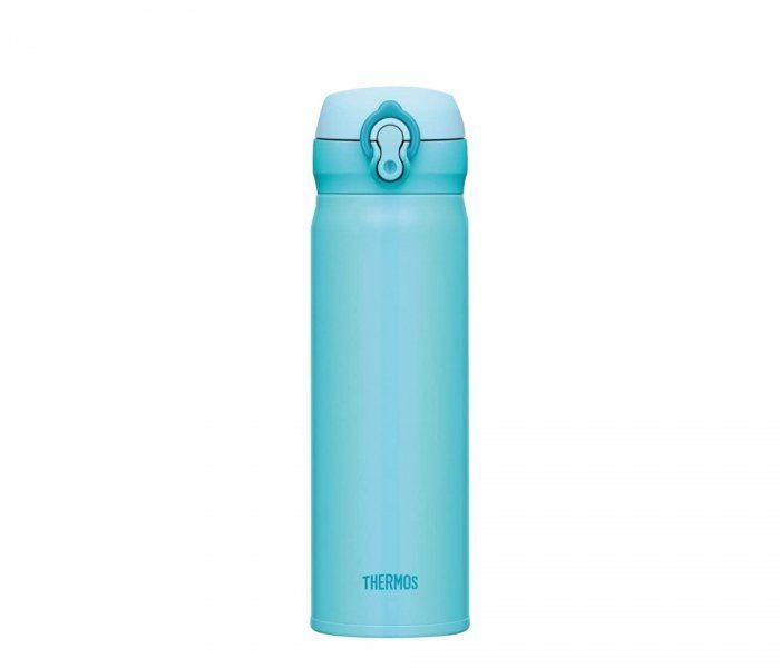 Kubek termiczny mobilny Thermos Motion 500 ml (sky blue) niebieski