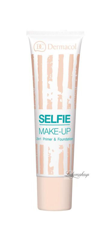 Dermacol - Selfie Make-Up - 2in1 Primer & Foundation - Baza i podkład w jednym - 1