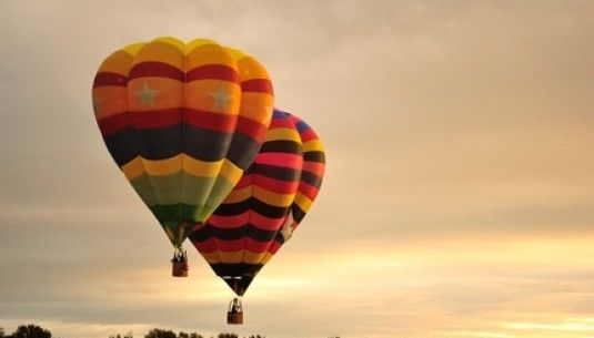 Lot balonem dla dwojga - Katowice