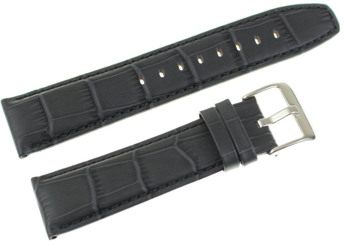 Skórzany pasek do zegarka Bisset 22 mm BS-160.22.20