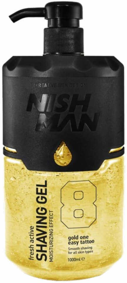 Nishman Shaving Gel 8 Fresh Active Żel do golenia 1000ml