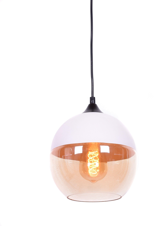 LAMPA WISZĄCA LOFT INDUSTRIALNA BIAŁA ALBION