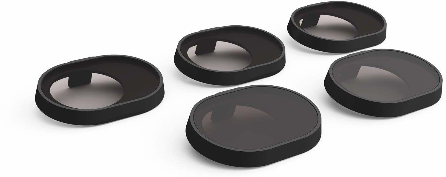 PGYTECH Zestaw 5 filtrów do drona DJI Spark UV, ND4, ND8, ND16 i filtrów PL