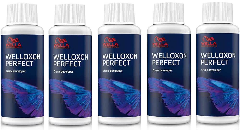 Wella Welloxon Perfect Kremowa emulsja utleniająca o stężeniach 6%, 9%, 12%, oxydant 60ml
